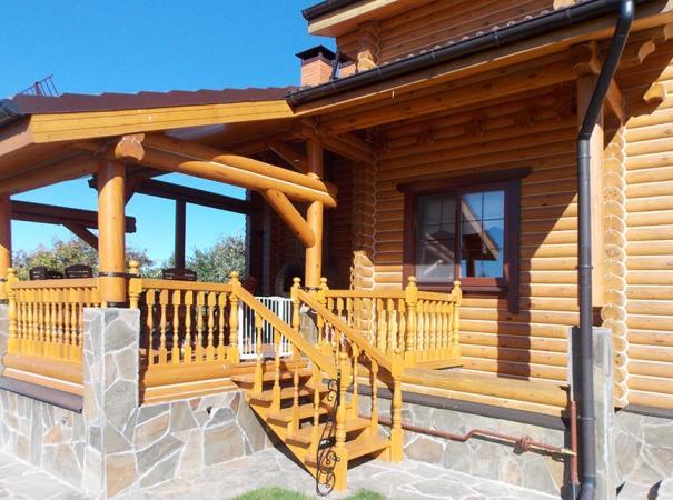 Окна в деревянном доме 1