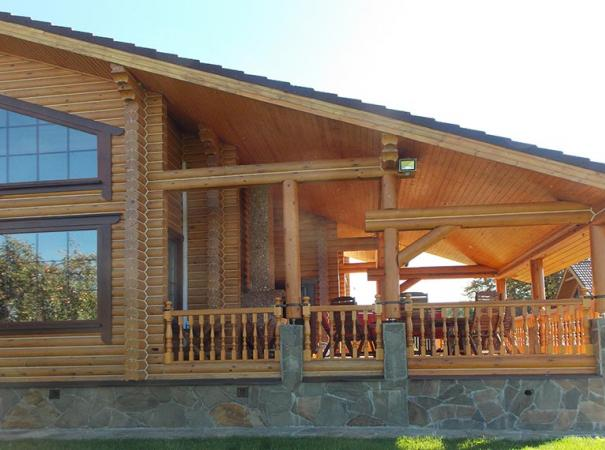 Окна в деревянном доме 2