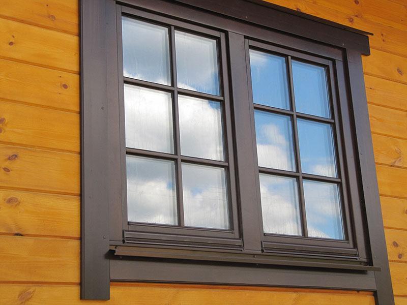 pine windows