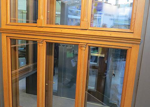 финское трехстворчатое окно