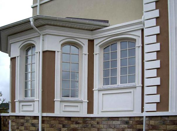 arched windows. Selection
