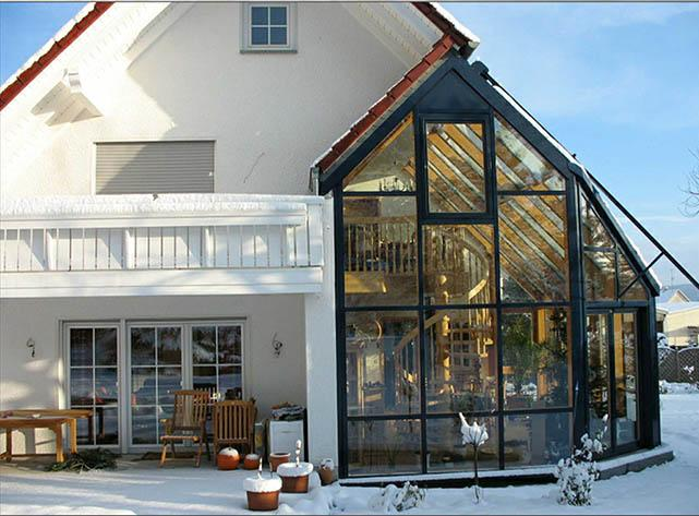 проектирование и строительство зимних садов под ключ